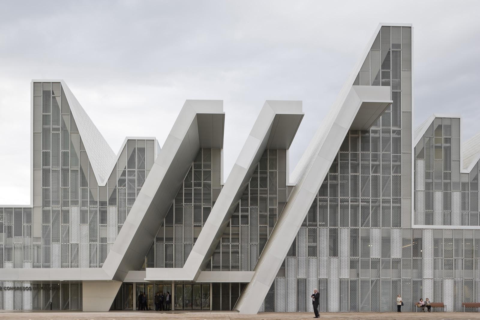 Nieto sobejano project aragon convention centre - Estudio arquitectura zaragoza ...